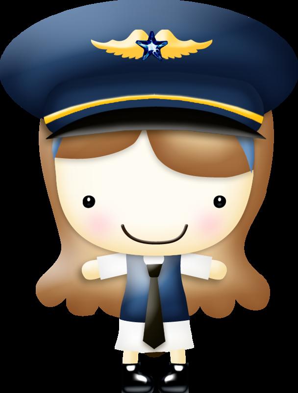 Plane clipart captain, Plane captain Transparent FREE for.