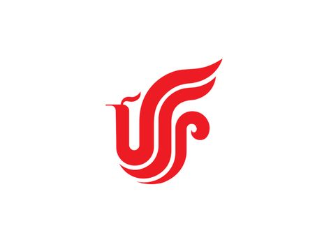Air China phoenix Logo.