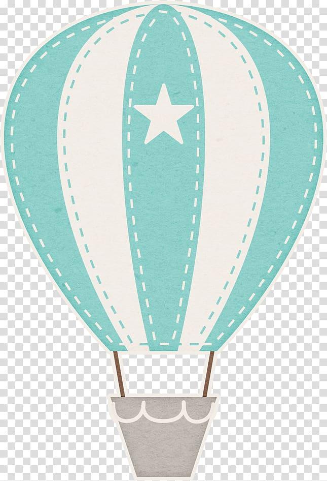 White and blue hot air balloon illustration, Hot air balloon.