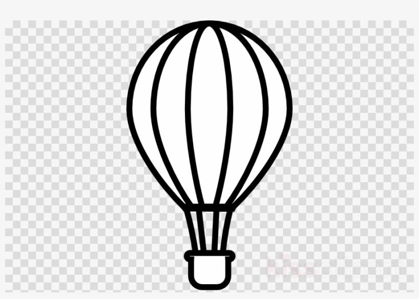 Hot Air Balloon Black And White Png Clipart Hot Air.
