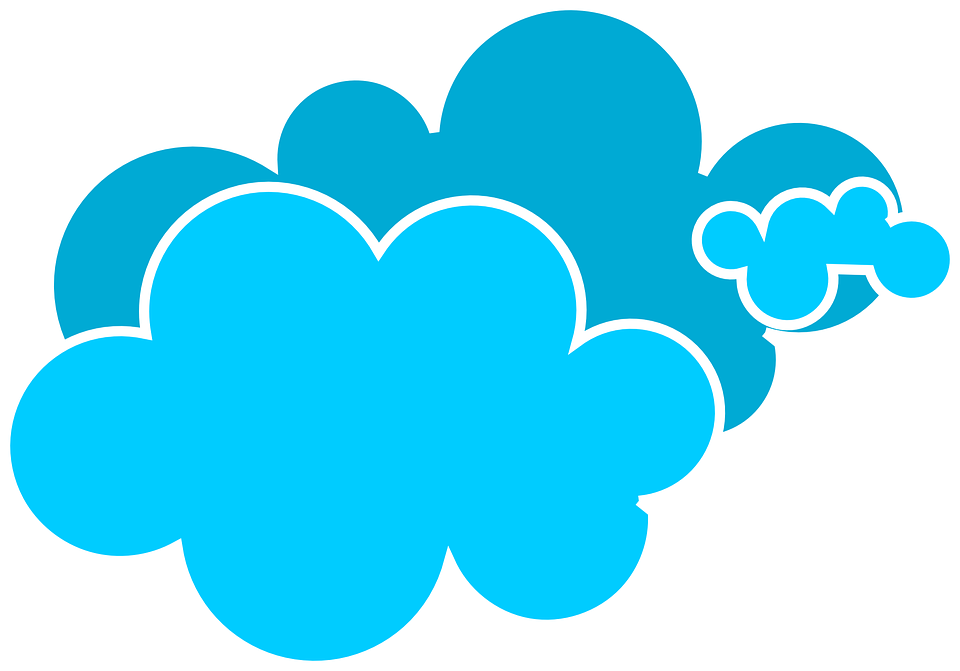 Free vector graphic: Clouds, Blue, Day, Weather, Sky.