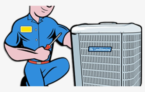 Free Air Conditioner Clip Art with No Background.