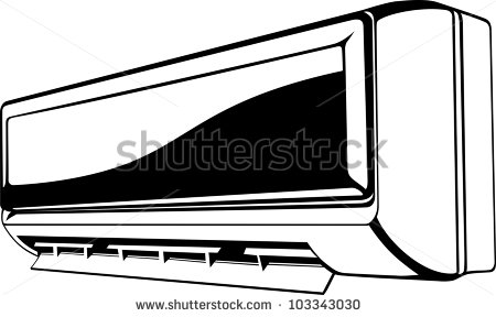 Air Conditioner Clipart Air Conditioner Stock Vector #vvOdcQ.
