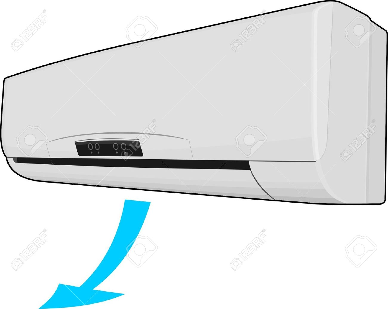 Air conditioner clipart.