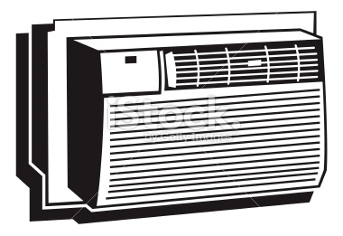 Air conditioner clipart black and white » Clipart Station.