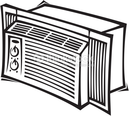 Air conditioner clipart black and white 11 » Clipart Station.