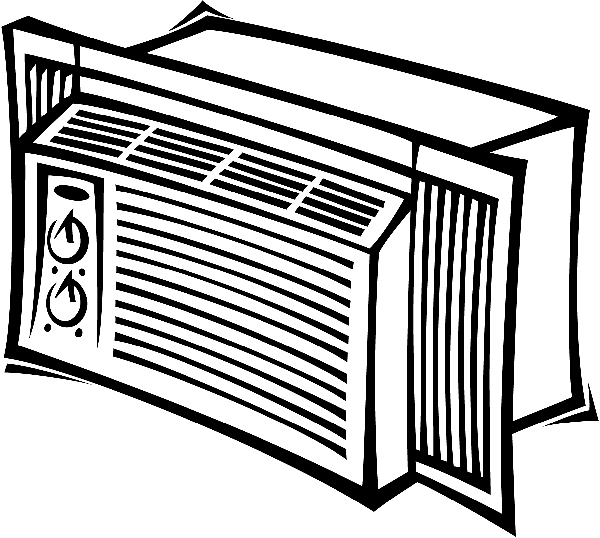 Air Conditioning Unit Clipart.