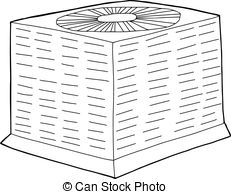 Central air conditioner Vector Clipart EPS Images. 51.