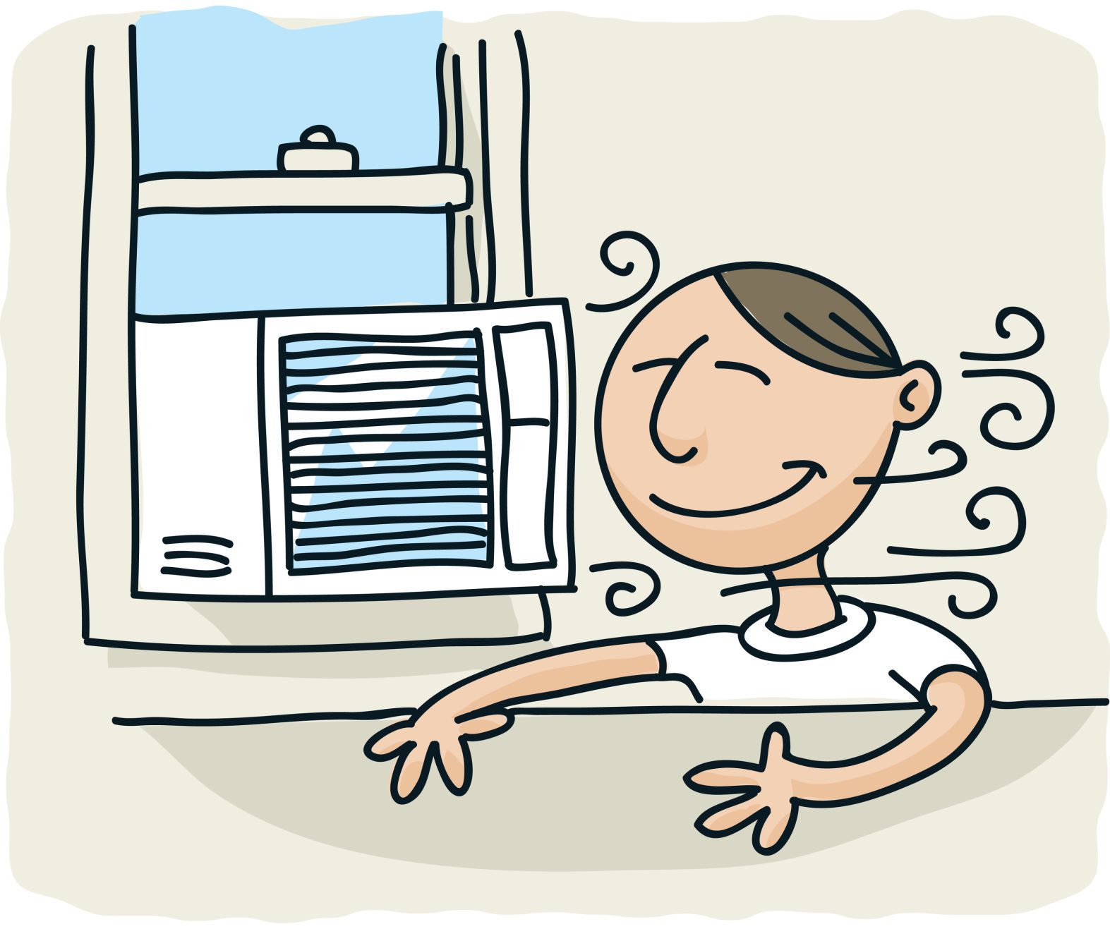 Large Image Of Air Conditioner Clipart.