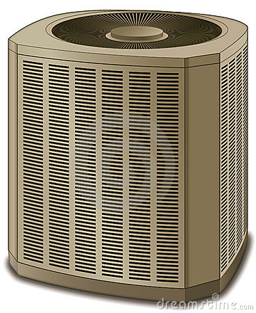Air Conditioner System Clip Art.
