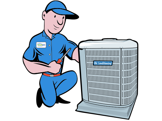 Cartoon hvac clipart.
