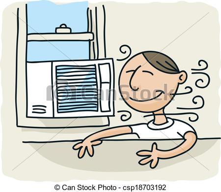 Cool air clipart.