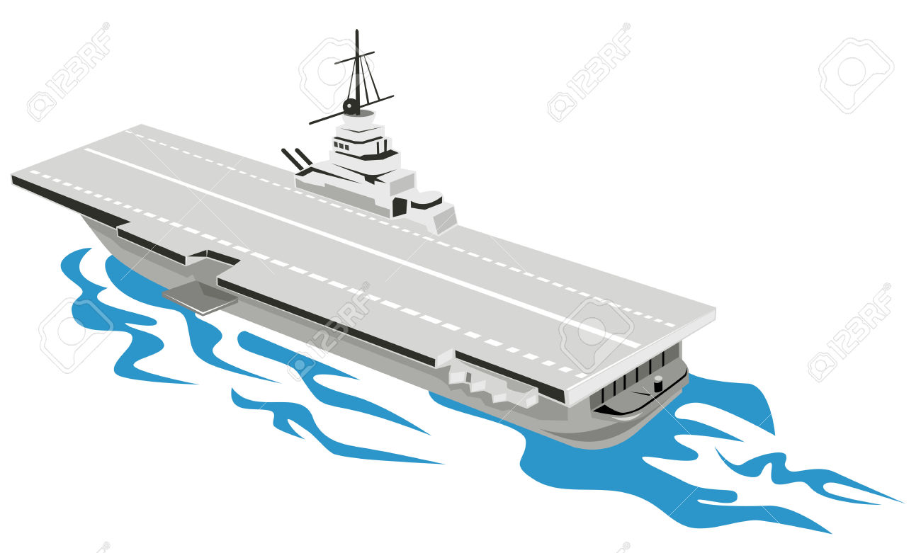 World War Two Aircraft Carrier Royalty Free Cliparts, Vectors, And.