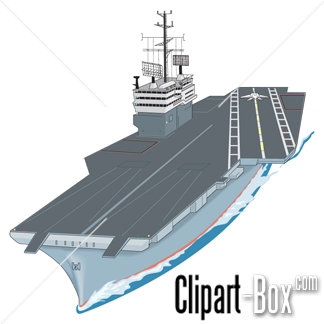 CLIPART AIRCRAFT CARRIER.