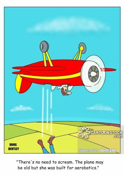 Air Display Cartoons and Comics.