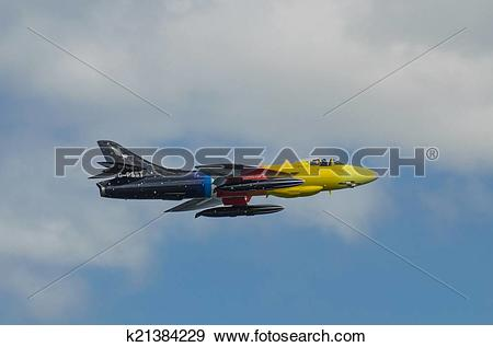 Stock Photograph of Miss Demeanour during the Bray Air Display in.