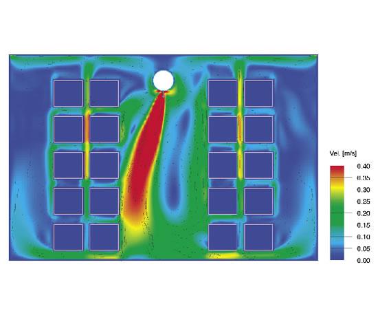 NozzFlow air distribution system.