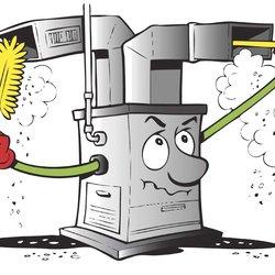 Furnace Service Clip Art.