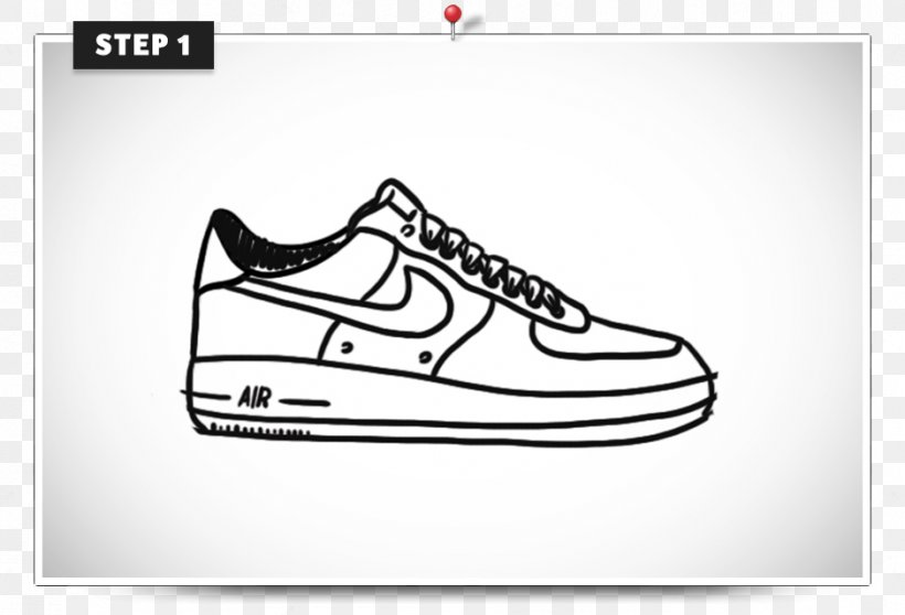 Air Force Shoe Nike Sneakers Clip Art, PNG, 939x640px, Air.