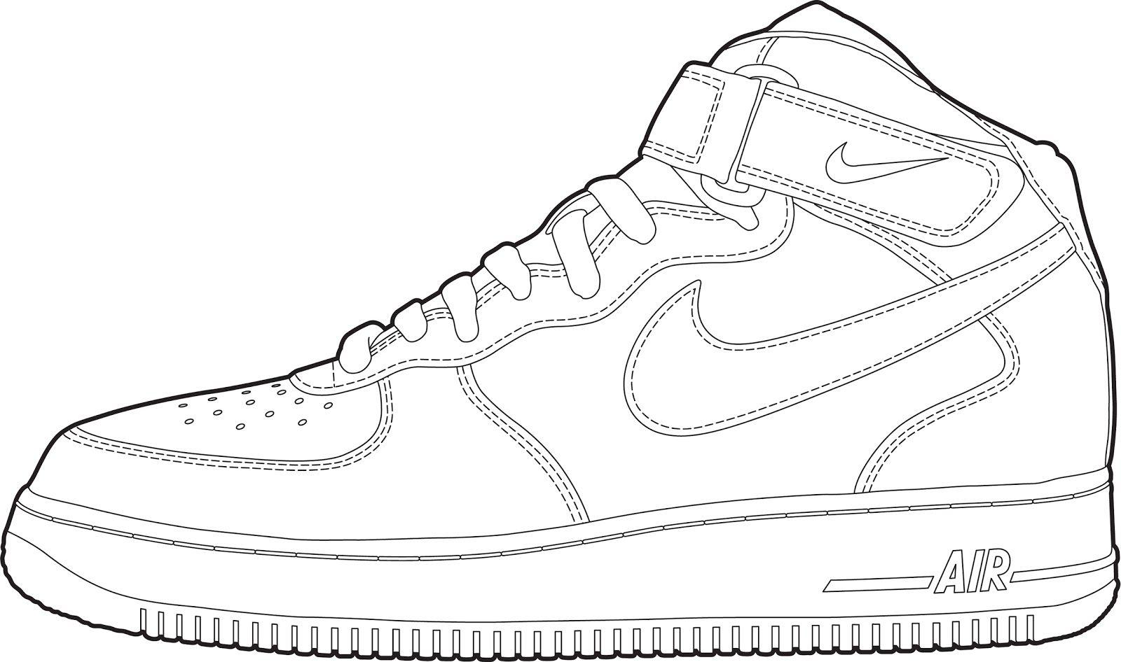 Astronaut Air Force 1 Nike Shoe.