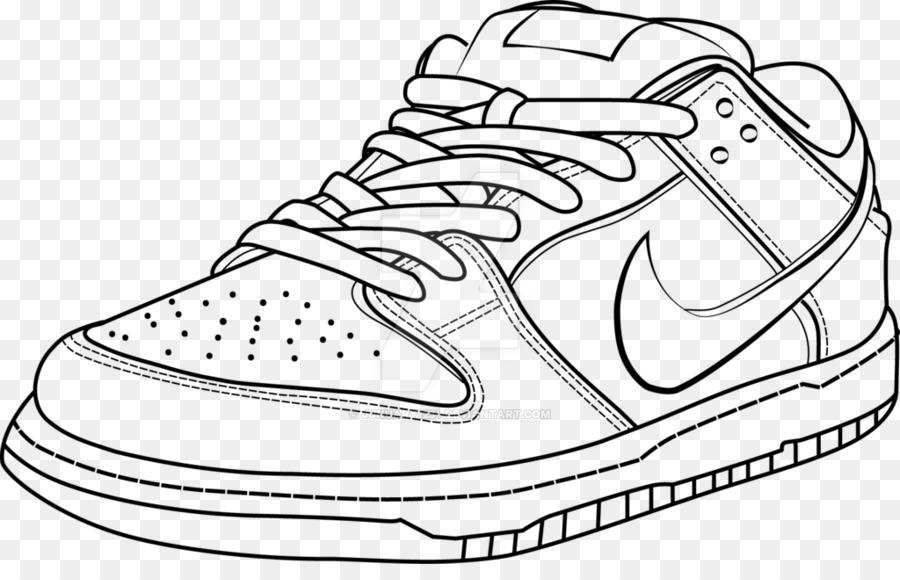 Nike Swoosh clipart.
