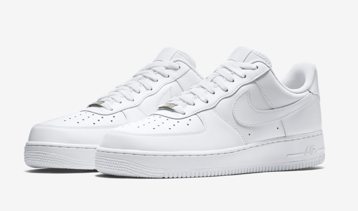 Nike Air Force 1: History Behind The Perfect White Sneaker.