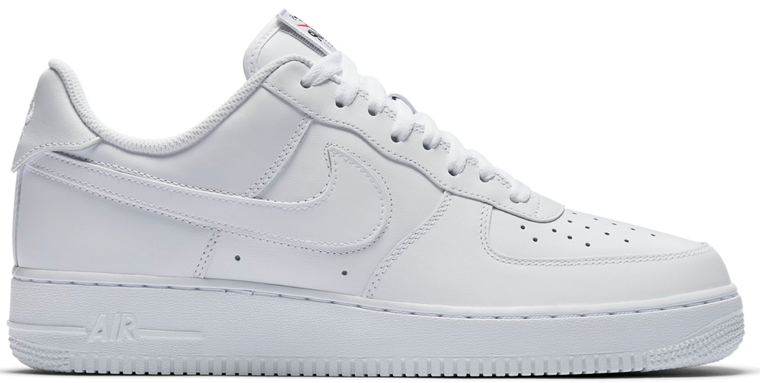 Nike Air Force 1 Low Swoosh Pack White All.