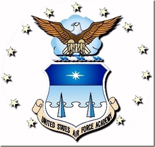 United States Air Force Academy Logo Clipart.