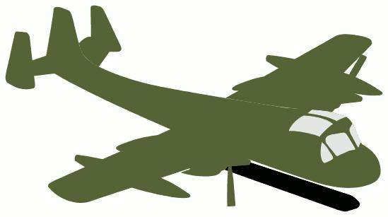 Air force aircraft clipart.