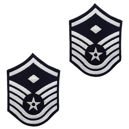 Air Force Embroidered Chevron: Master Sergeant: 1st Sgt.