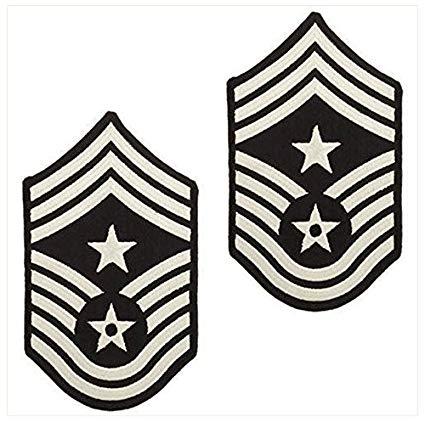 Amazon.com: Vanguard AIR FORCE CHEVRON: COMMAND CHIEF MASTER.