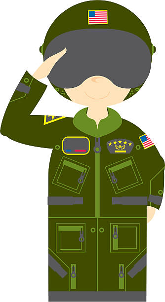Best Us Air Force Uniform Illustrations, Royalty.