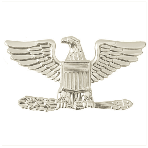 Details about Vanguard AIR FORCE RANK INSIGNIA: COLONEL.