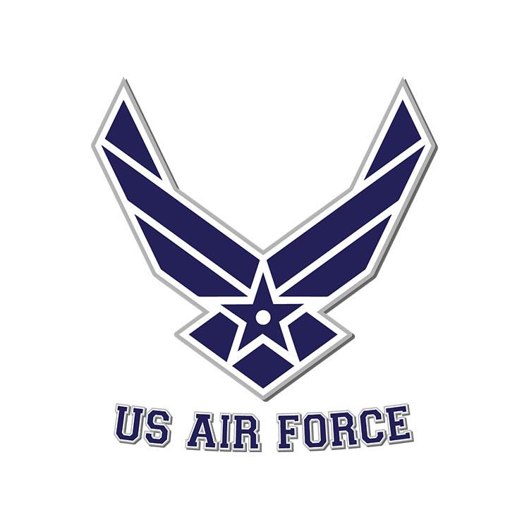 Air Force Clip Art Vector SVG EPS DXF PNG Digital Download.