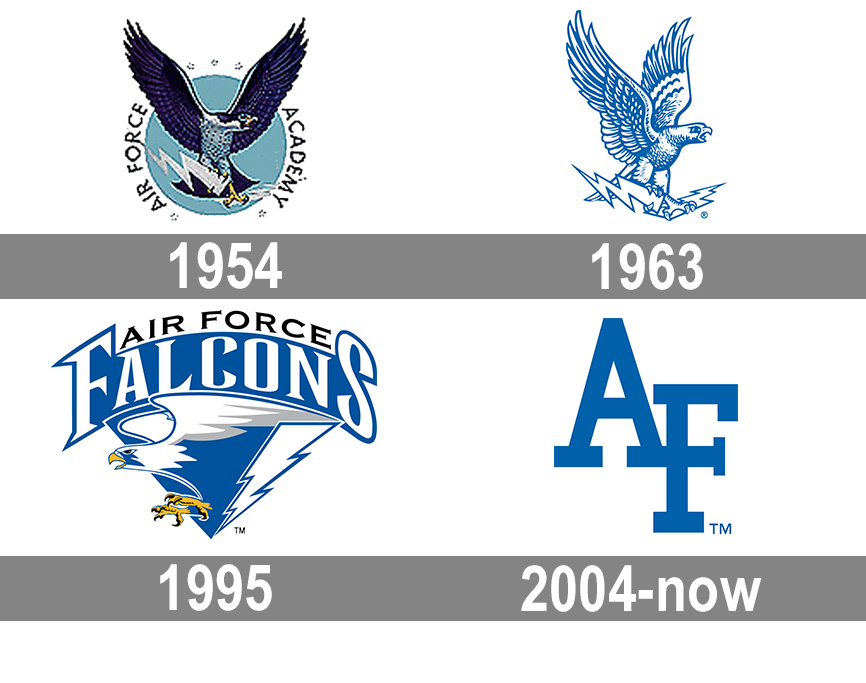 Air Force Falcons logo.