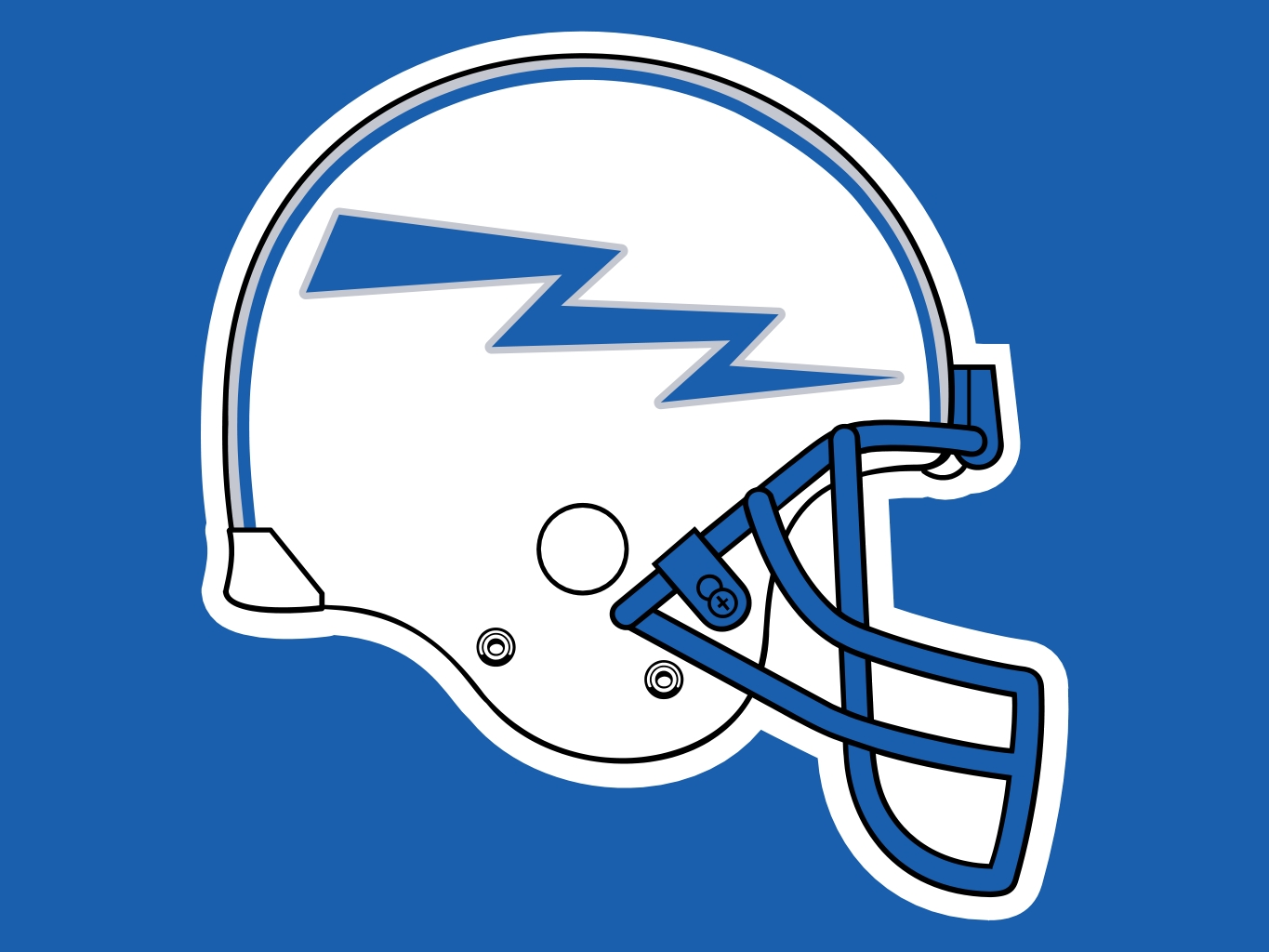 Air Force Falcons Helmet Logo free image.