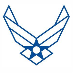 US Air Force logo svg cut.