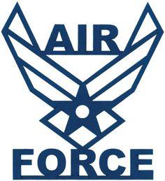 Air Force Logo Silhouette.