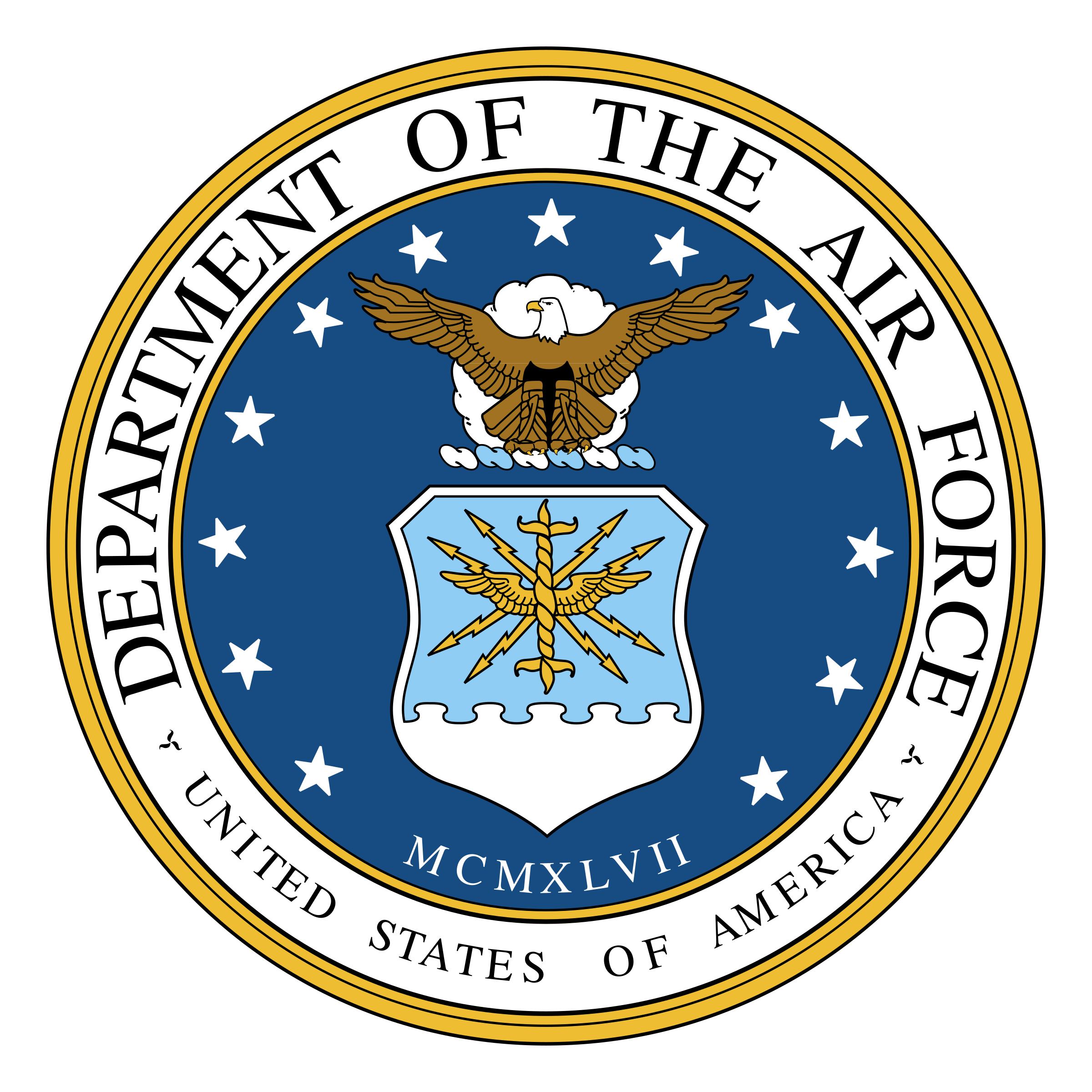 Department of the Air Force Logo PNG Transparent & SVG.