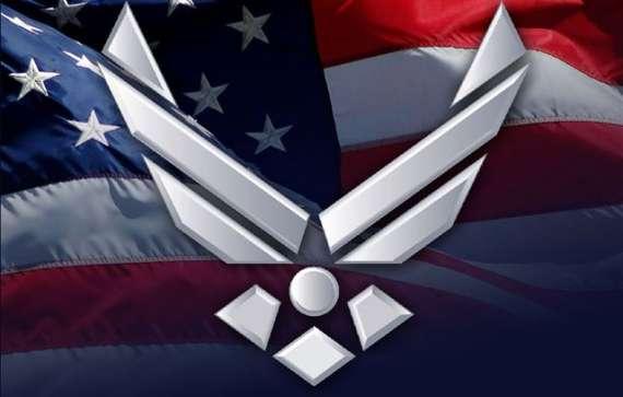 Air Force Logo Wallpaper on WallpaperGet.com.