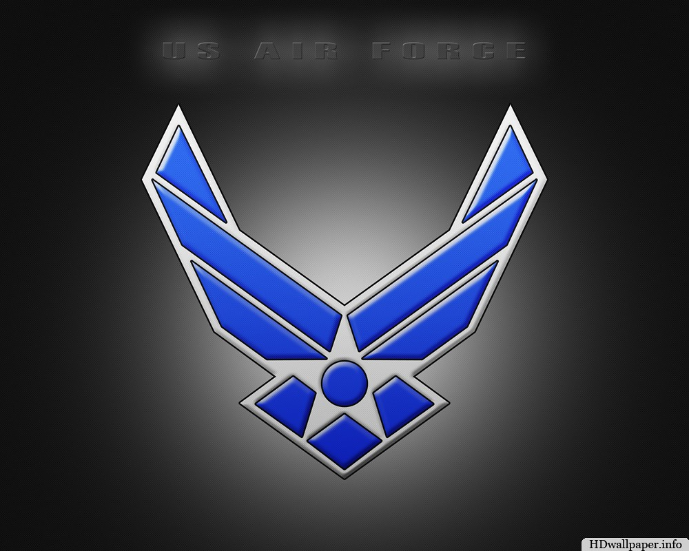 Air Force Logo Wallpaper Hd.