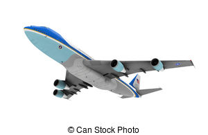 Air force one isolated Illustrations and Clipart. 65 Air force one.
