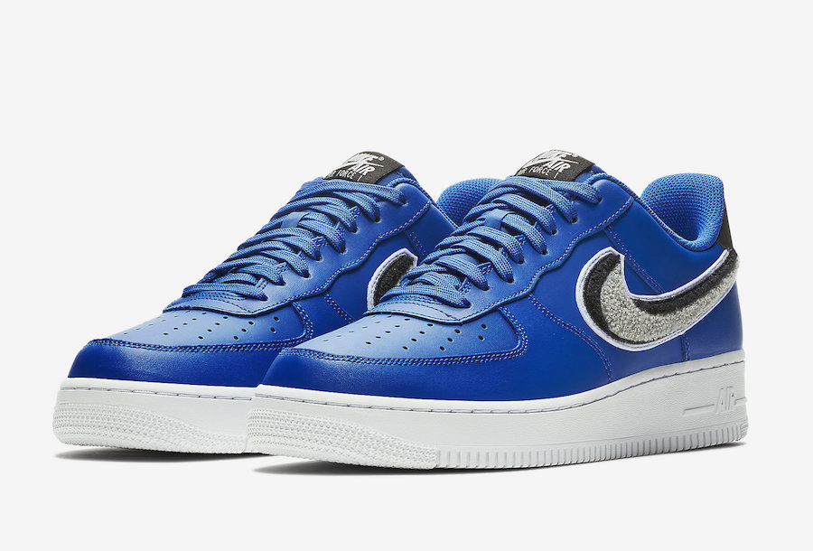 Nike Air Force 1 Low 3D Blue 823511.