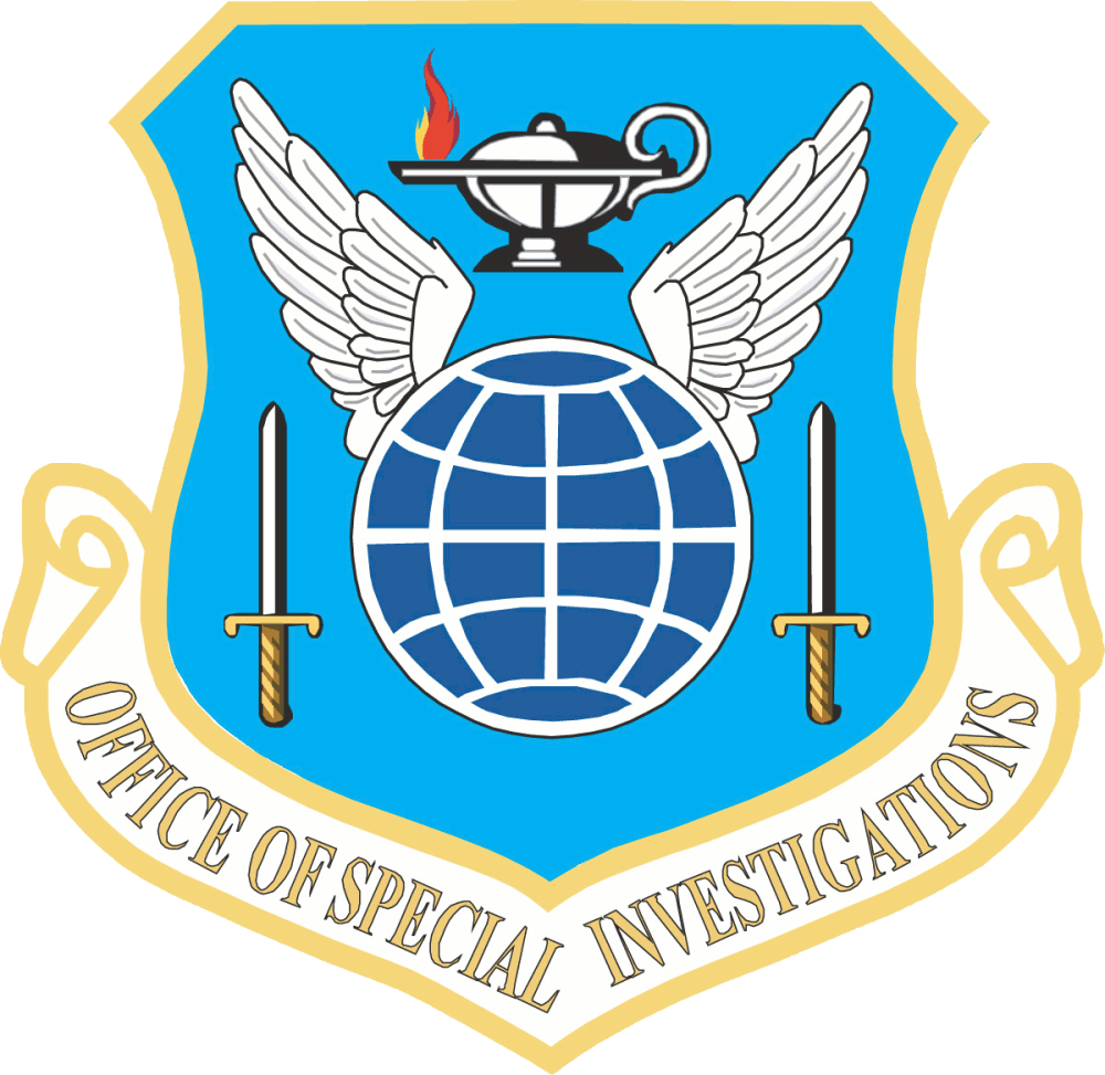 United States Air Force Office of Special Investigations.