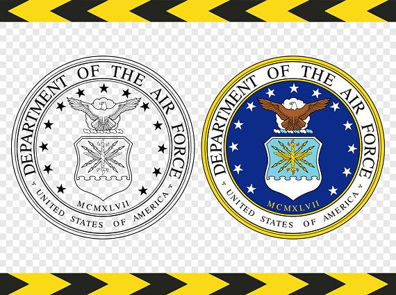 US Air force SVG USAF Seal Logo Decal United States Airforce.