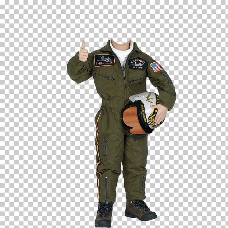 Halloween costume Child Air force 0506147919, pilot PNG.