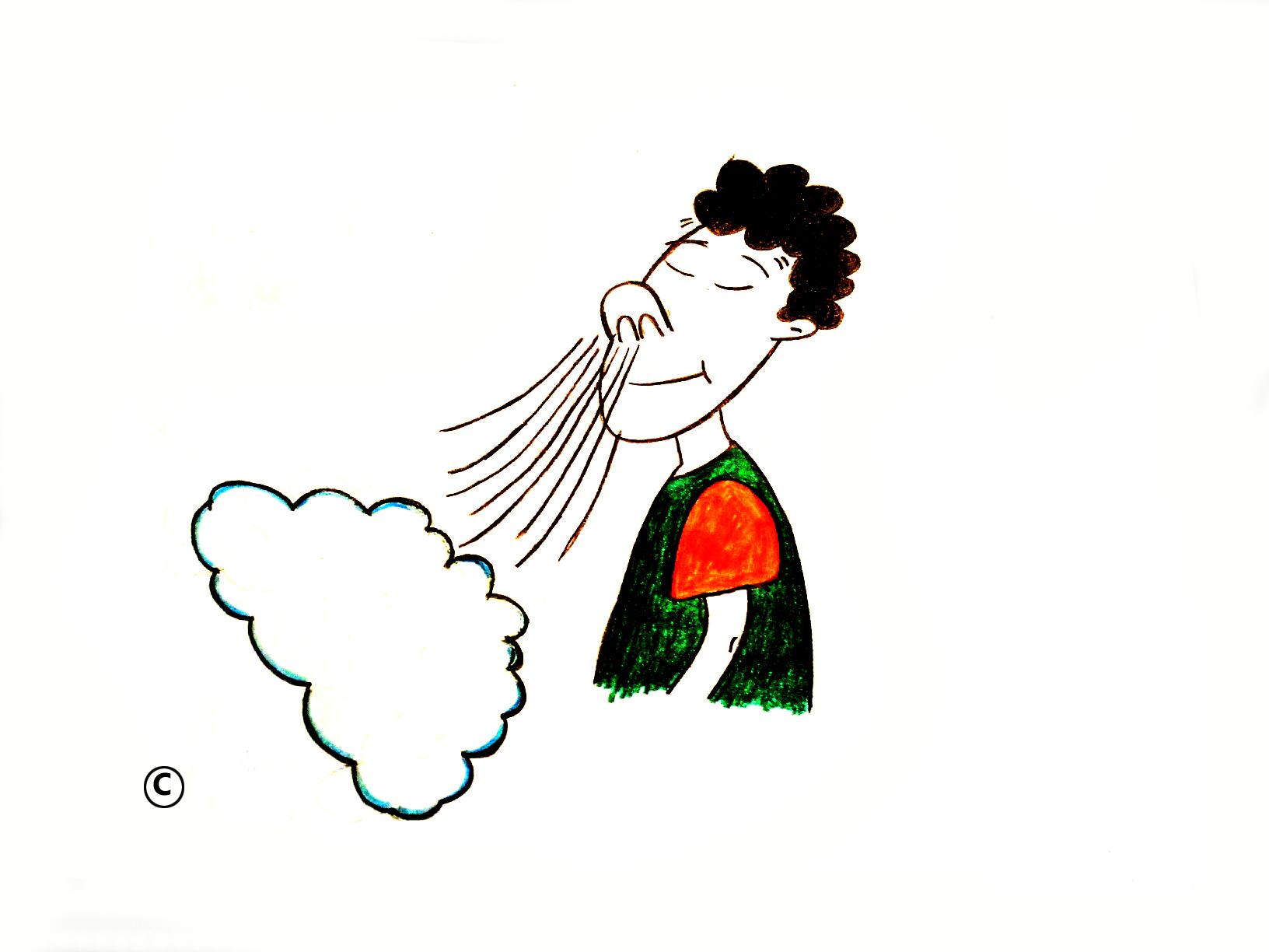 Breathing Air Clipart.