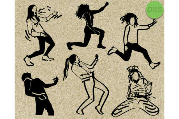Air Guitar Svg Vector Clipart.