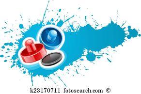 Air hockey table Clip Art EPS Images. 29 air hockey table clipart.