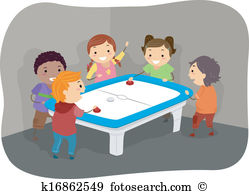 Air hockey table Clip Art EPS Images. 29 air hockey table clipart.